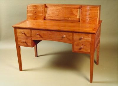 Charming Cherry Desk By Jason Breen, A Member Of The Guild Of Vermont Furniture  Makers.