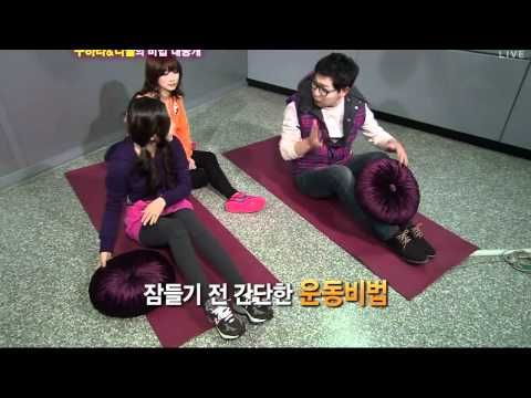 KARA Nicole & Hara Midnight TV Entertainment (slim-waist work-out) - YouTube