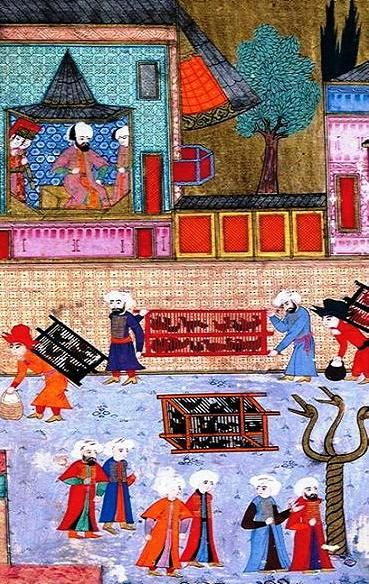 Ottoman Palace Cuisine of the Classical Period | Muslim Heritage. Poultrymen