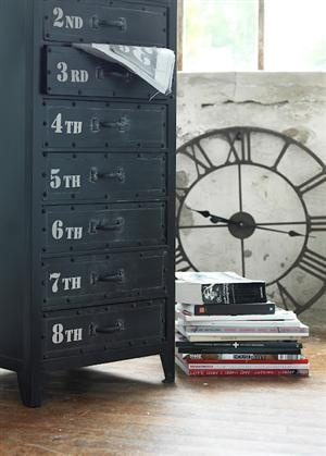 Love this cabinet with numbered drawers