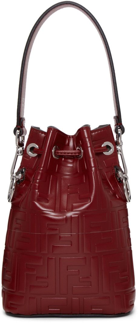 3bdfe16d3007 Fendi - Red Mini  Forever Fendi  Mon Tresor Bag