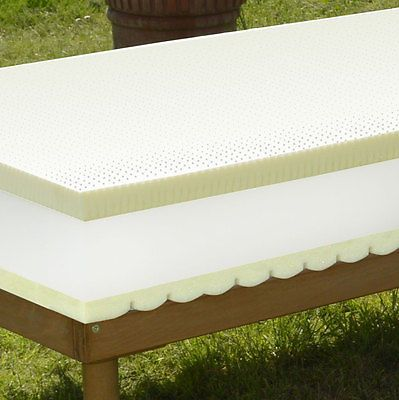 Crono Orthopedic mattress 1 5/8in Memory foam 1 5/8in Latex small double 120x200