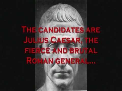 Julius caesar campaign speech