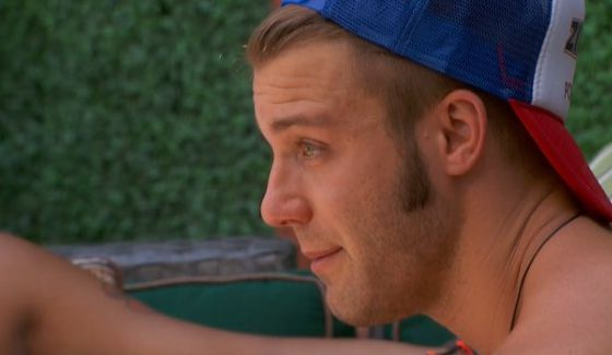 Paulie gets teary on Big Brother 18