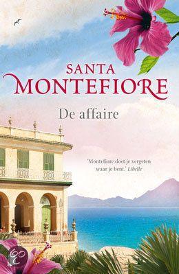 Gereserveerd bij de bib: Een boek vol romantiek / Een tiende roman van een auteur: Santa Montefiore - De affaire - Kobo #hrc2016