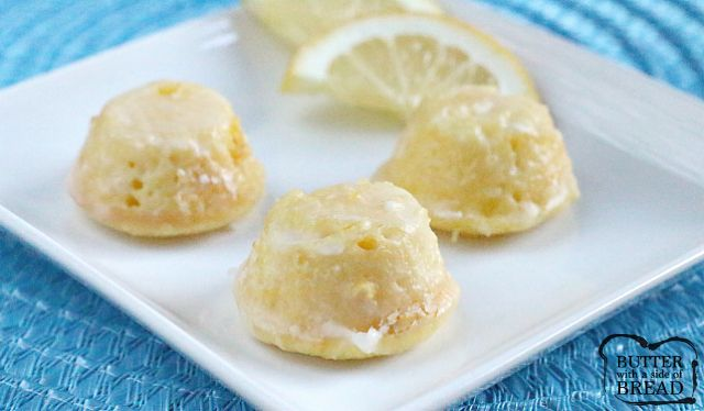 Start with a cake mix to make these delicious, bite-sized, lemony treats! This is the perfect treat to take to your next party!