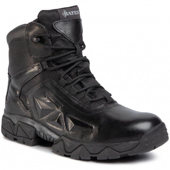 Buty Bates Delta Nitro 6 Zip E02347 Black Boots Hiking Boots Army Boot