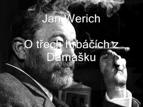 Jan Werich - O třech hrbáčích z Damašku - YouTube