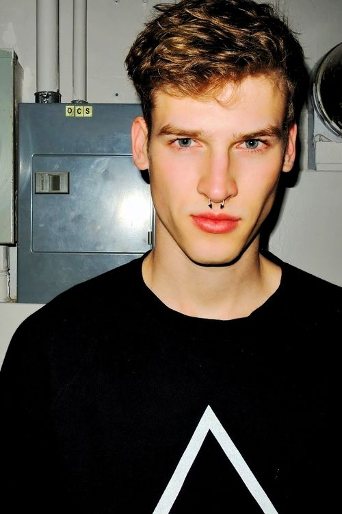 Septum Hipster Men Men Septum Piercing Pinterest