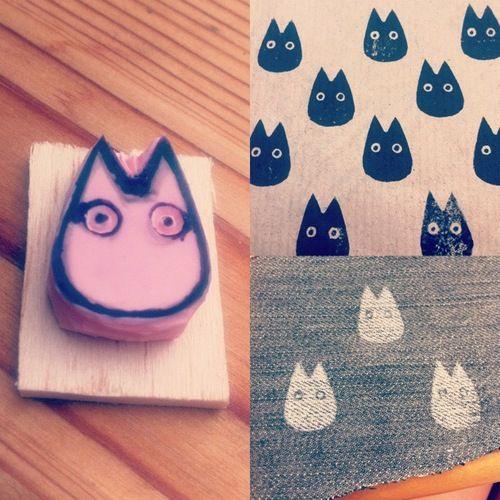 Mi vecino Totoro - sellos