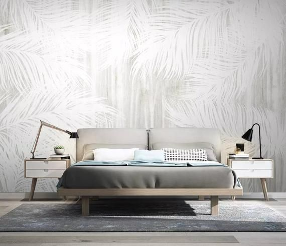 3d Pure White Feather Wallpaper Removable Self Adhesive Etsy Feather Wallpaper Self Adhesive Wallpaper Geometric Wall Paint