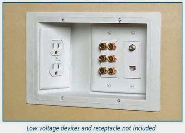34 Relatively Simple Things That Will Make Your Home Extremely Awesome,,Use recessed outlets so you can put your furniture against the wall.