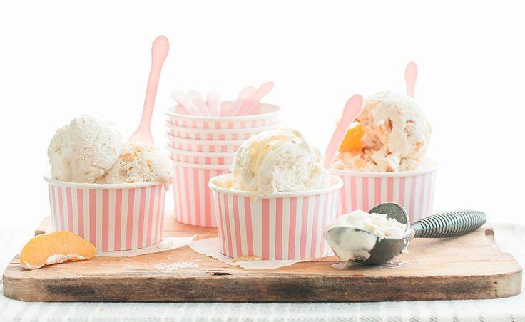 Lactose Free Salted Honey Vanilla Bean Ice Cream   Natrel