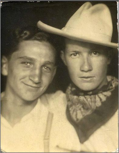 found, photo booth, cowboys,