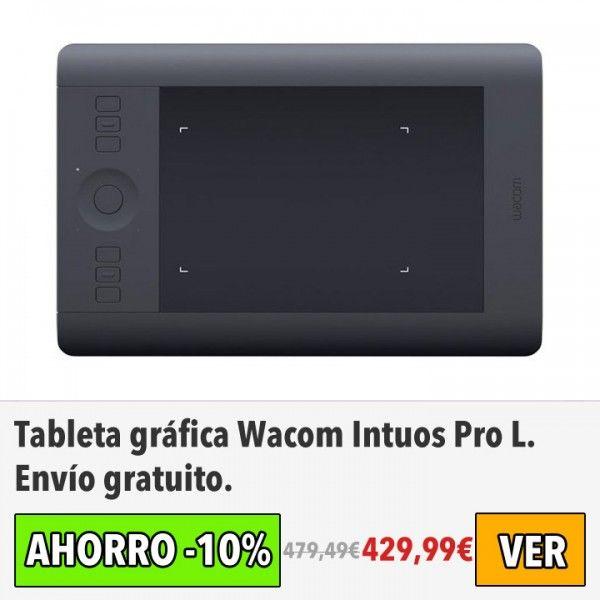 Tableta gráfica Wacom Intuos Pro L