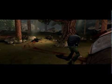 The Walking Dead The Game: Episode 1 (PC) - Gameplay part 1 - Lets kill some zombies!