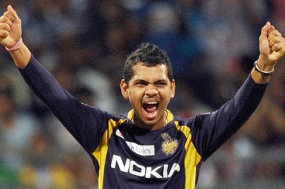 First Hat-trick in IPL 2013 by Sunil Narine