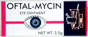 Oftal-Mycin eye drops is used for the temporary relief of burning in the eye, eye irritation and discomfort It can be used as a protectant against irritation. Gotas para los ojos, excelente para aliviar la sensacion de que se estan quemando, ojos irritado Culpable el viento, sol causando sequedad. Oftal-Mycin eye eye drops for burning eye relief The main culprits for these are dryness, exposure to wind and sun