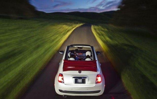 #2013 #Fiat #500C #Pop #Cabrio Soft Top defines #open-air driving fun