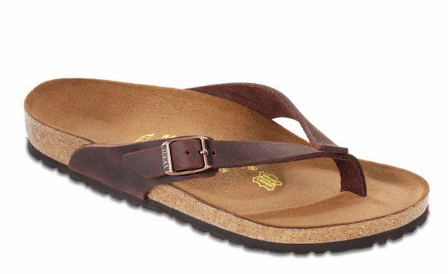 Summer Barbecuing Essentials: Birkenstock Adria flip-flops. $110. #shoes