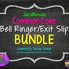Common Core Reading and Writing Bell Ringers Exit Slips BUNDLE, Volume 1  Do you need a collection of ready-to-print bell ringers/exit slips that y...