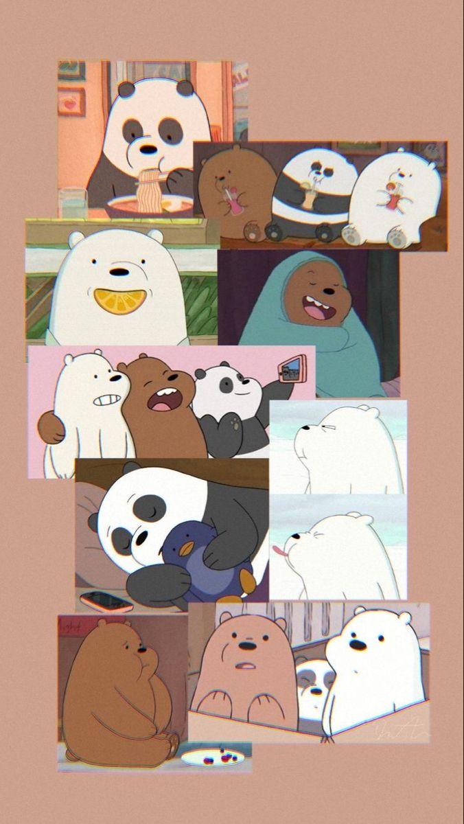 الدببه الثلاثة خلفيات In 2021 We Bare Bears Wallpapers Character Wallpaper Bear Wallpaper