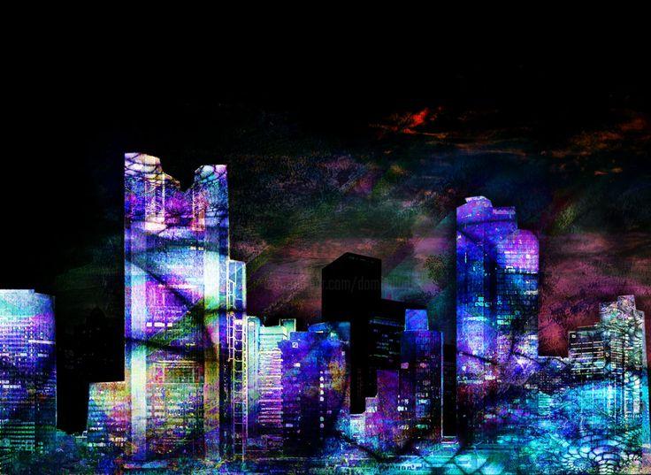 Décalage horaire (Digital Arts) by Dodi Ballada Décalage horaire, abstract digital painting by Dodi Ballada