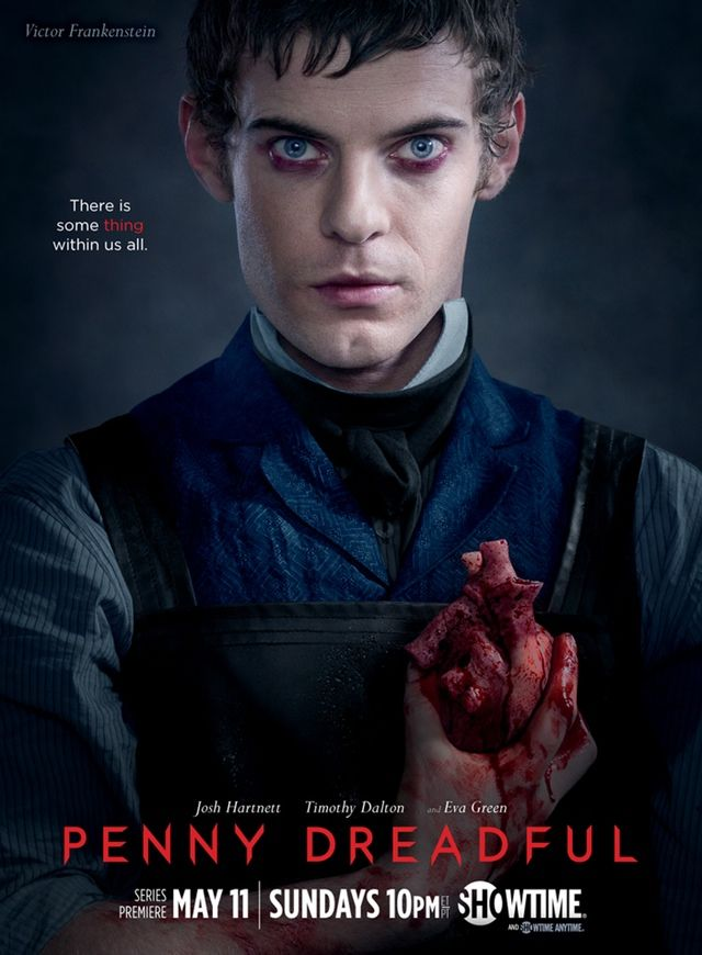 'Penny Dreadful' Exclusive: Meet Dr. Victor Frankenstein. HitFix has the new poster featuring Harry Treadaway as the notorious scientist