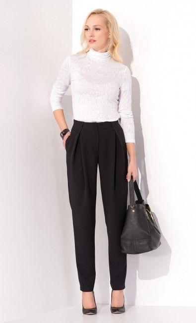 Biała bluzka AWENA ZAP215059 - ZAPS - Sklep Zaps | on-line fashion