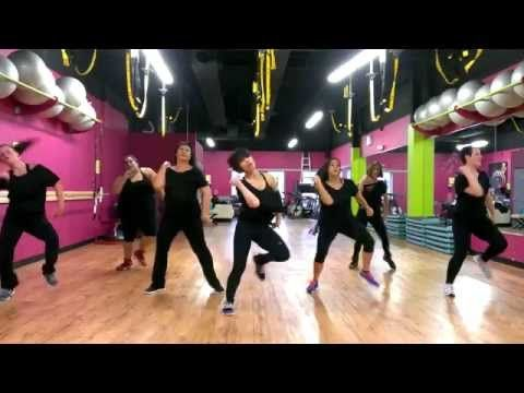 "▶ Mark Ronson & Bruno Mars ""Uptown Funk"" - Zumba Routine - Choreo by Mari - YouTube"