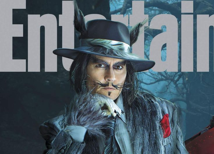 My, what big eyes you have, Johnny!  Johnny Depp plays Big Bad Wolf in upcoming…