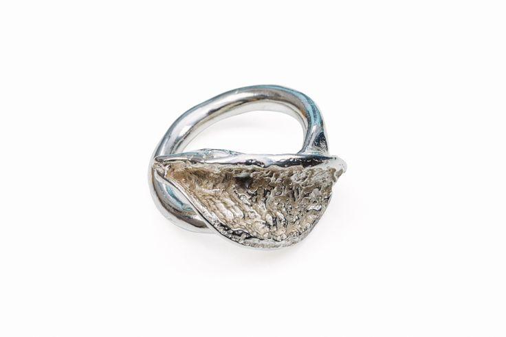 Sterling Venus Corsage Ring