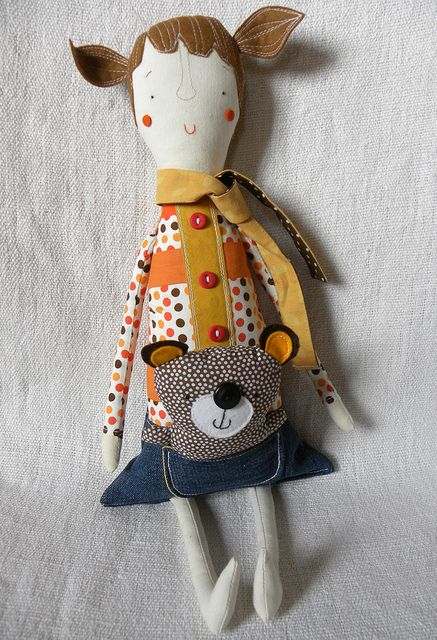 Marcie and Dottie the wee bear | Flickr - Photo Sharing!