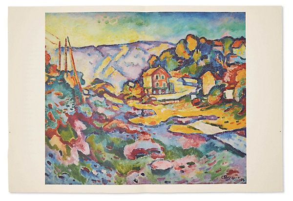 One Kings Lane - Collectors' Pieces - Georges Braque, L'Estaque, 1906