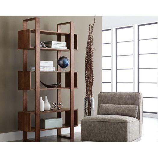 "Sunpan Modern Jarvis 79"" Bookcase"