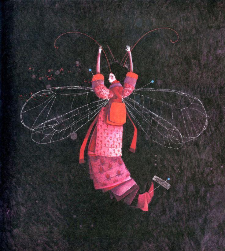 çizgili masallar: Rebecca Dautremer, The Secret Lives of Princesses