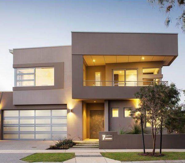 93 best fachadas de casas images on pinterest for Casas modernas exterior