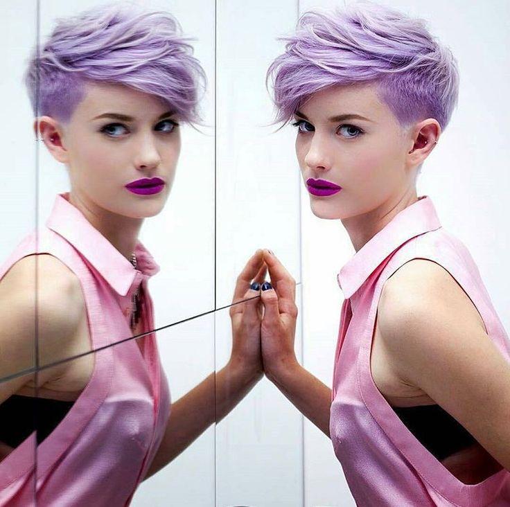 @adamciaccia Previously /Unreleased/ photo of his famous purple pixie.
