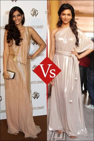 Vogue.in lets you decide which Bollywood star tops the style charts. Sonam and  have both garnered attention when it comes to their style – on and off screen.    Whether it's the Indian red carpet or the Cannes International Film Festival, the two starlets have let their distinct personal styles dictate their choices, with Deepika's picking a Rohit Bal sari last year and Sonam opting for Jean Paul Gaultierthis time around.