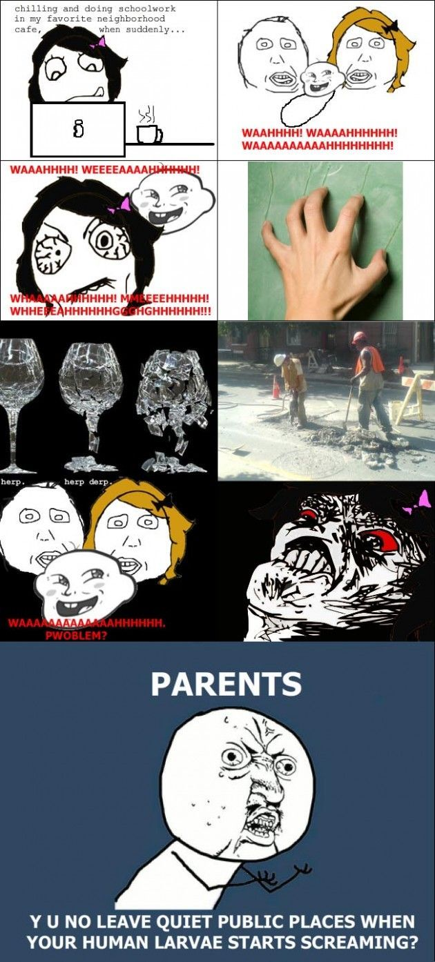 Funny: Parents involved rage comics