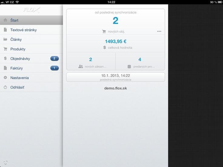 synchronizovaný prehľad - iPad