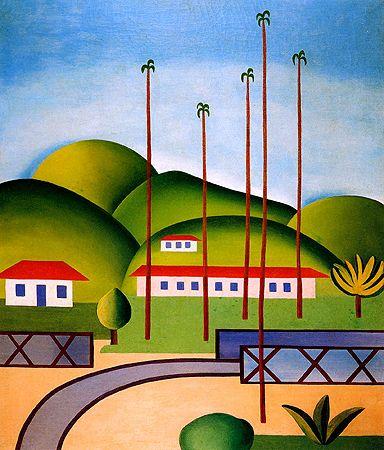 Cityscape - Tarsila do Amaral