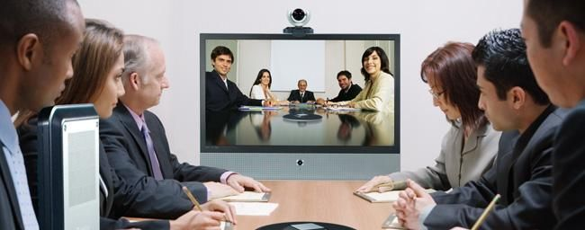 #Videokonferenz (Bild LifeSize)