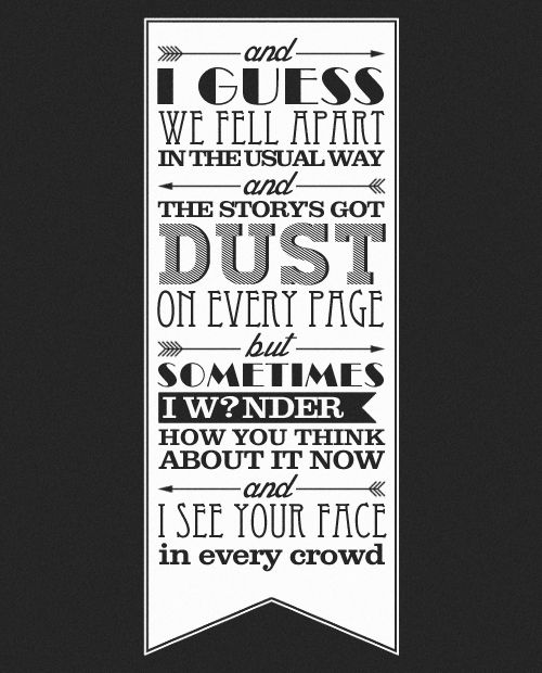 207 best lost in the music images on pinterest jacks mannequin indemne favorite lyrics from red holy ground stopboris Images