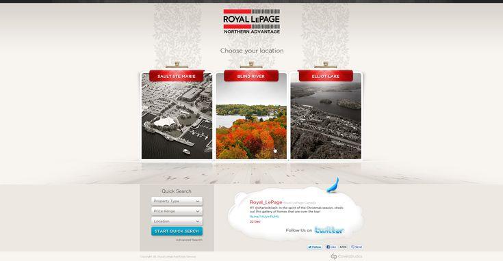 Web Design: Royal LePage by VictoryDesign.deviantart.com