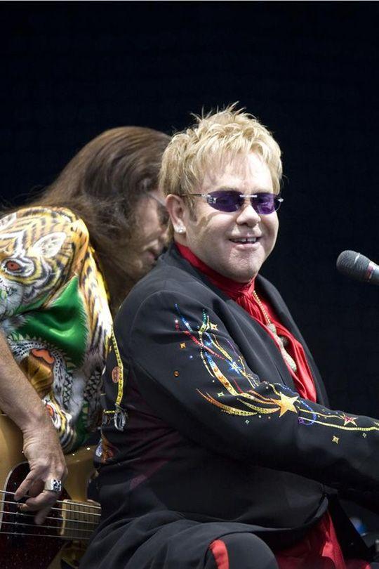 Elton John a Milano