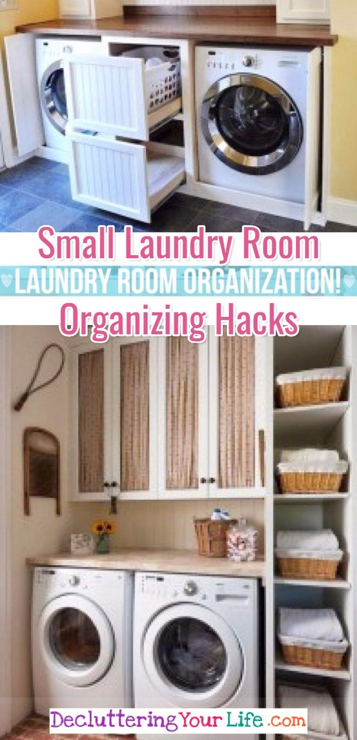 Small Laundry Room Organization Ideas Decluttering Your Life
