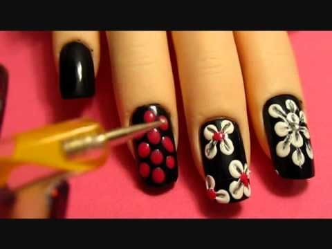 some girly, floral, nail designs I came up with to share with you guys for my first vid, hope you like ! to see more of me check out http://www.enjoyingme.tumblr.com/