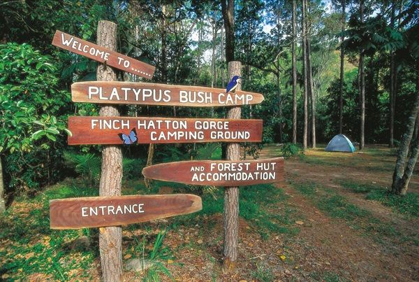 Platypus Bush Camp camping site