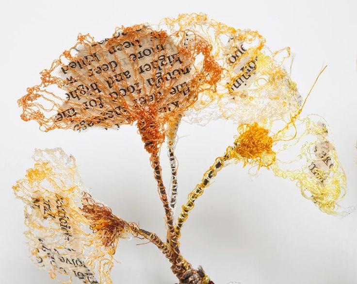 Textiles, How to Stitch Art, Artist Study with thanks to Lisa Kokin Studies for Art Students at CAPI :::  www.milliande.com, Mixed Media Textile Art School Portfolio Work Inspiration, Stitch, Sewn, Vintage